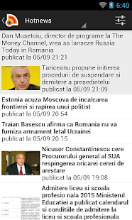 Stiri din Romania- screenshot thumbnail