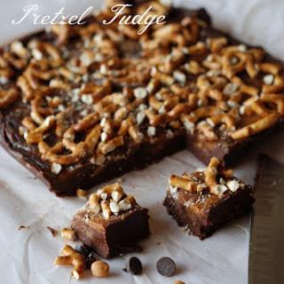 Nutella Caramel Pretzel Fudge.