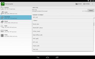 Screenshot of File Converter
