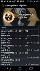 ROM Manager Screenshot 3