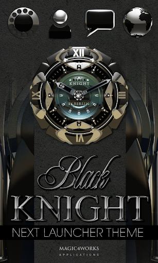 Next Launcher Theme B Knight