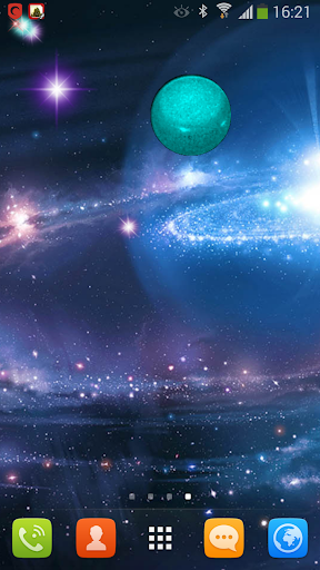 GALAXY LIVE WALLPAPPER