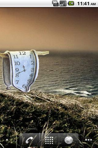 Melting Clock by Salvador Dali- screenshot