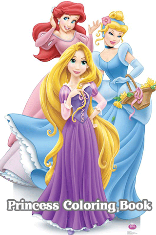 New Princess Coloring Book