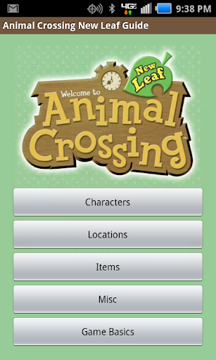 AC New Leaf Guide-No ads