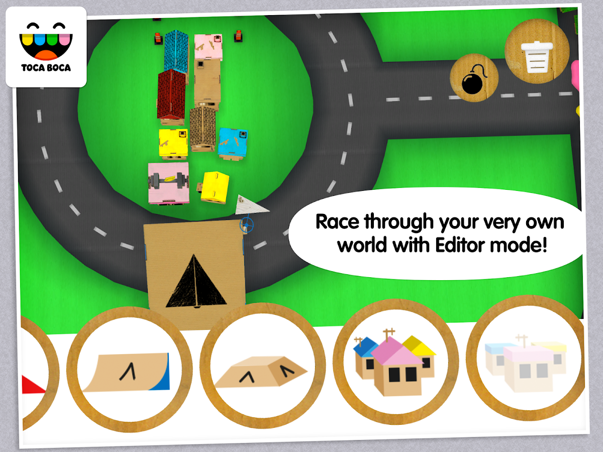 Toca Cars - screenshot