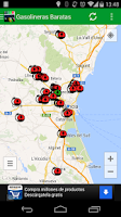 Screenshot of Gasolineras Baratas