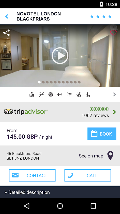 Accorhotels.com hotel booking - screenshot