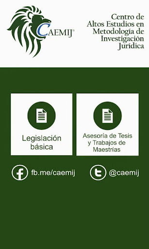 CAEMIJ - Legislación Básica