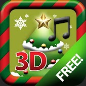 X-MAS 3D CAROL TREE CARD