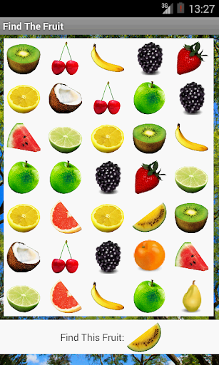 Find the Fruit
