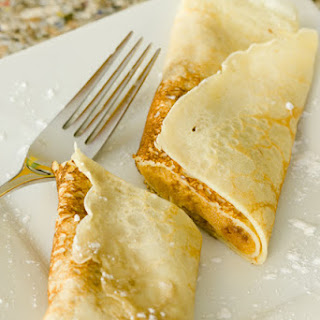 Pumpkin Pie Crepes
