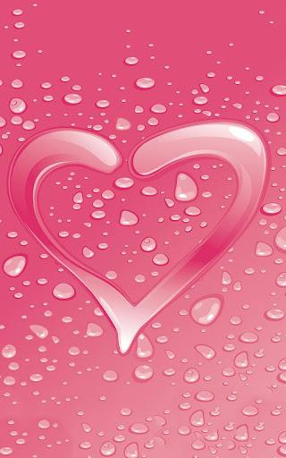 ピンクの女の子のライブ壁紙
