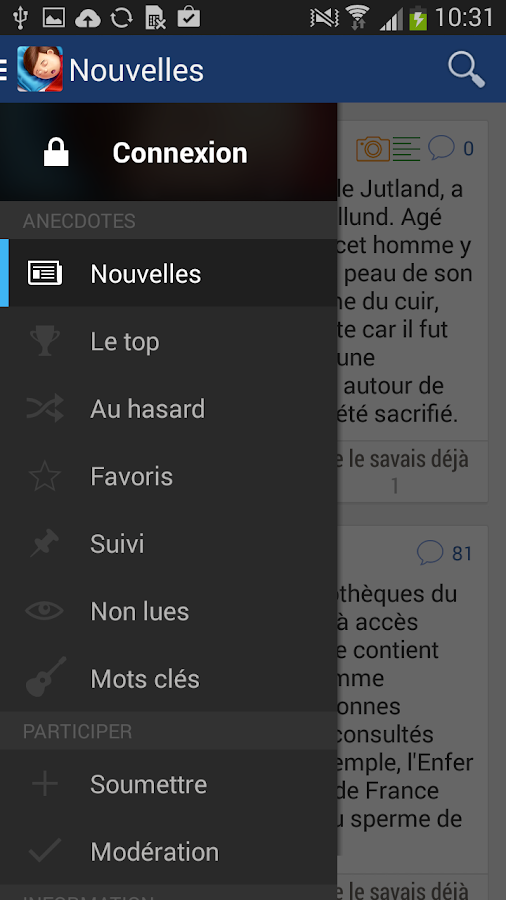 Se Coucher Moins Bête- screenshot