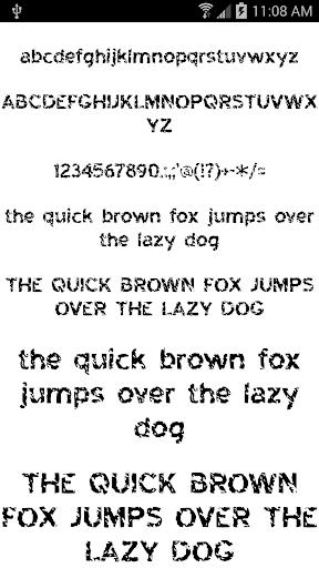 Fonts for FlipFont 50 #6 Screenshot