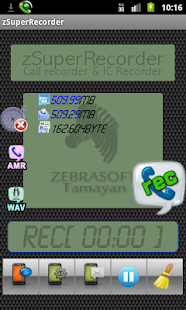 zSuperRecorder Call Recorder - screenshot thumbnail