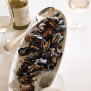 Mussels with Sausage and Thyme