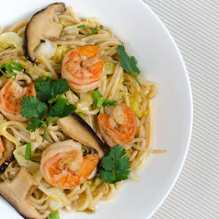 Shrimp and Vegetable Fried Noodles