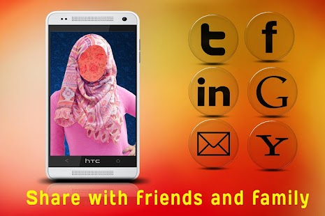 Hijab Fashion Photo Montage screenshot