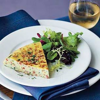 Frittata with Shallots & Pancetta Recipe