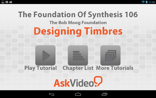 Moog - Designing Timbres