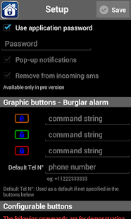 iRemote GSM- screenshot thumbnail