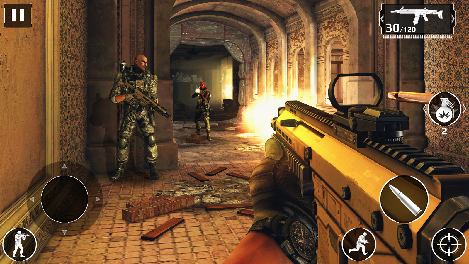 Modern Combat 5: Blackout- screenshot