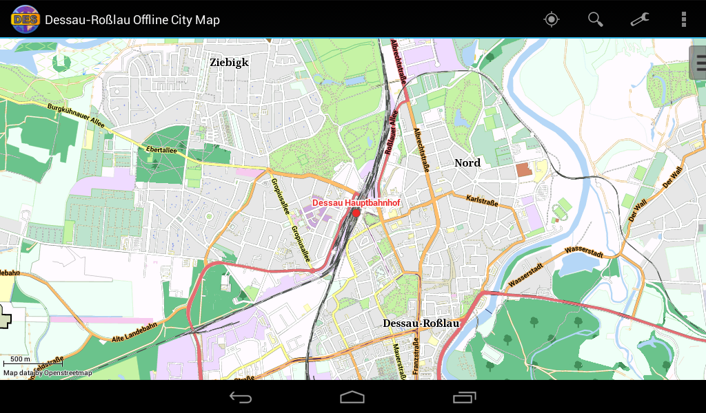 Dessau Offline City Map Android Apps on Google Play