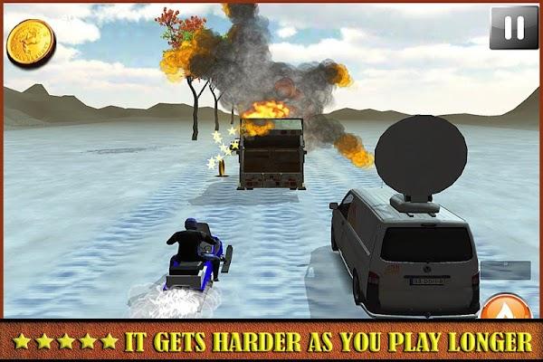 Ice Frozen Snow Mobile Racing - screenshot