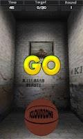 Screenshot of Flick Basketball