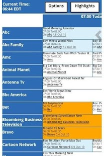 TV Listings Guide - screenshot thumbnail
