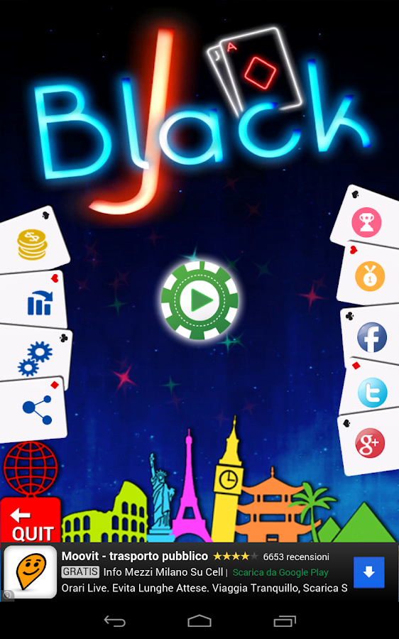 BlackJack Gratis- screenshot