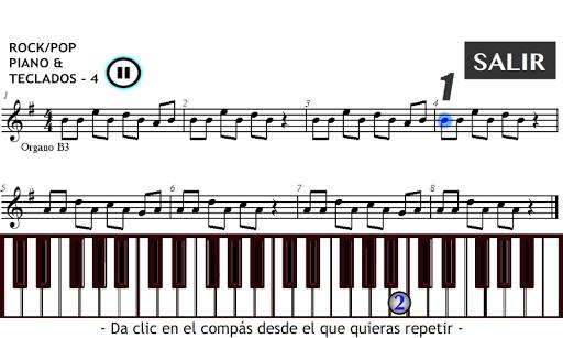 Leer Música en Piano Teclados