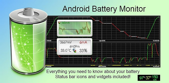 Battery Monitor Widget Pro v2.6.3 for Android