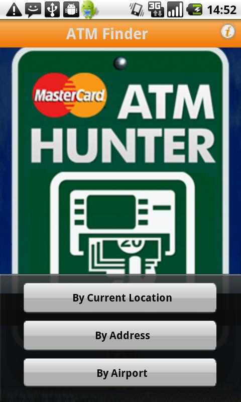 MasterCard ATM Hunter - screenshot