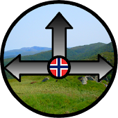 Norwegian Hiking Compass