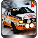 Snowy Racing Car wallpaper icon