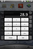 Screenshot of Tip Calculator- AD FREE