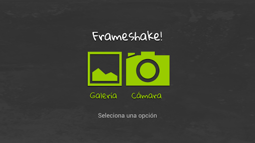 Frameshake - Frame it easy