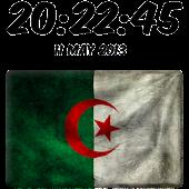 Algeria Digital Clock