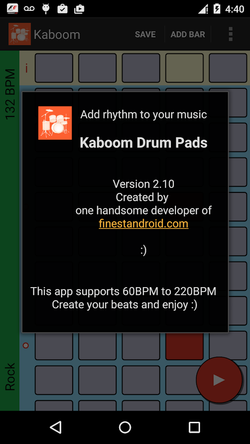 Kaboom beat maker MPC - loops- screenshot