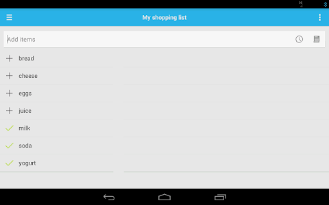 Shopping List screenshot 12