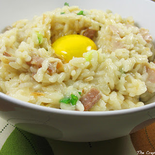 Bacon & Egg Risotto