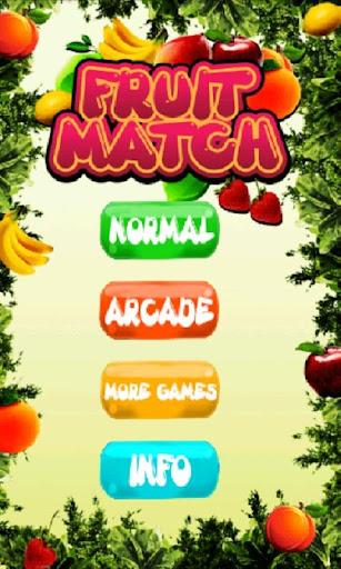 フルーツのマッチ