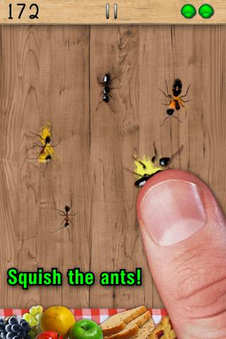 Screenshots of Ant Smasher for iPhone