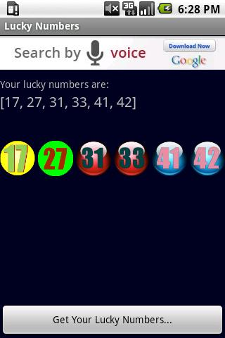 lucky play 4 numbers