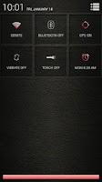 Screenshot of Leather Red CM11/AOKP Theme