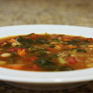 Crock Pot Vegetable Soup recipe – 79 calories.