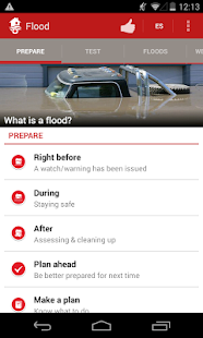 Flood - American Red Cross - screenshot thumbnail