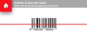 Screenshot of Sika Barcode Scanner